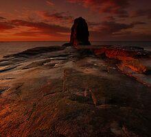 Saltwick On Fire by Stephen Smith