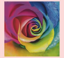 Beatiful Colorful Rainbow Rose by MMPhotographyUK