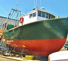 Drydock ~ Gloucester, MA by artwhiz47