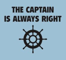 The Captain Is Always Right by BrightDesign