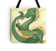 Green-Tea Dragon Tote Bag