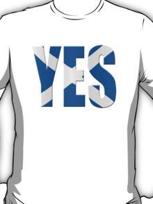 Scottish flag  yes  T-Shirt
