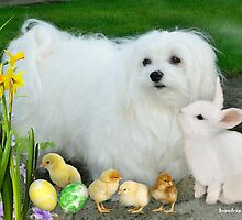 Happy Easter from Snowdrop & Friends ! by Morag Bates
