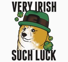 Doge St. Pattys Day Kids Clothes