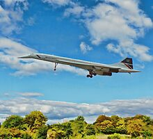 British Airways Concorde by ipgphotography