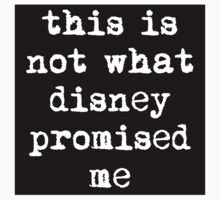 This is Not What Disney Promised Me - Sticker by rydrahuang