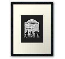 Goodbye Raggedy Man Framed Print