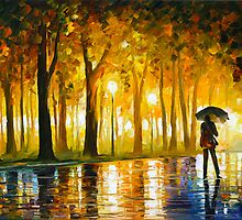 BEWITCHED PARK ORIGINAL  by Leonid  Afremov
