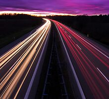The German Highway by Constantin Fellermann