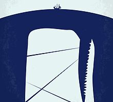 No267 My MOBY DICK minimal movie poster by Chungkong