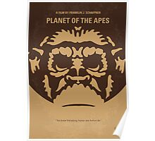 No270 My PLANET OF THE APES minimal movie poster Poster