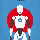No275 My I ROBOT minimal movie poster by Chungkong
