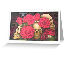 The Sweet Smell and The Kiss. Greeting Card