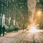 Winter - Washington Square - New York City by Vivienne Gucwa