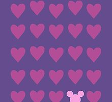 Hidden Mickey- Pink & Purple by SunshineSarah