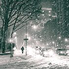 Night - Winter - New York City by Vivienne Gucwa