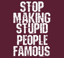 Stupid People T shirt. by RussellK99