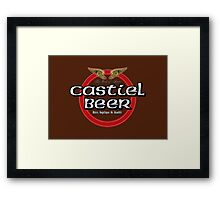 Brewhouse: Castiel Beer Framed Print