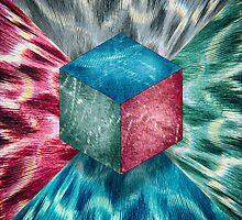 Aluminum Cube RGB Psychodelic by YoPedro