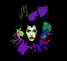 Maleficent - Abstract by jebez-kali