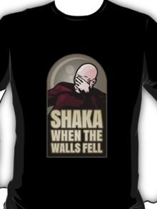 Shaka, When the Walls Fell T-Shirt