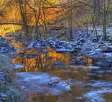 The Golden Hour by English Landscape Prints
