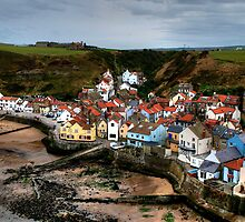 Staithes by English Landscape Prints
