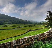 Swaledale At Its Best by English Landscape Prints