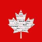 Canadian Stereotypes Maple Leaf by AryaPierce