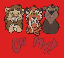 Lions and Tigers and Bears, Oh My!  Kids Clothes