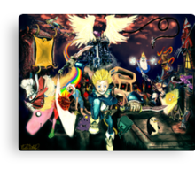 Final Fantasy Adventure Time! Canvas Print