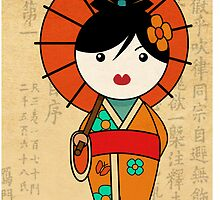 """Mini Geisha"" by GENE ."