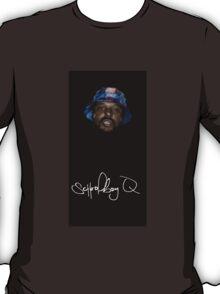Wavy SchoolBoy Q with signature T-Shirt