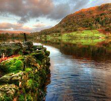 Rydal Water, Lake District by English Landscape Prints