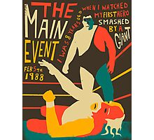 The Main Event Photographic Print
