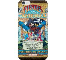 Pirates of the Caribbean Ride iPhone Case/Skin
