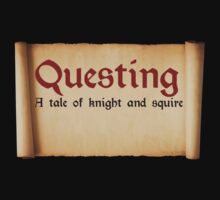 Questing: A tale of knight and squire. by lower case