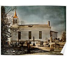 New Prospect Reformed Church and Cemetery Poster