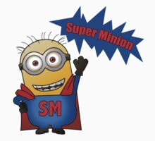 SUPER MINION T-SHIRT by Aloakes