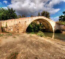 Crete Packhorse Bridge by English Landscape Prints