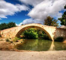 The Cretian Packhorse Bridge by English Landscape Prints