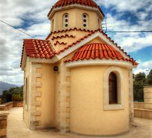 Greek Orthodox Church by English Landscape Prints