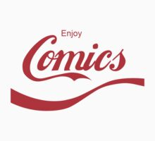 Enjoy Comics Coca cola by amok300