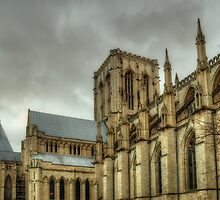 The Minster by English Landscape Prints