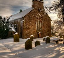 St Giles Church, Bowes by English Landscape Prints