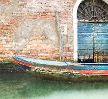 Weathered Boat by Alex Wagner