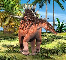 Dinosaur Kentrosaurus by Vac1