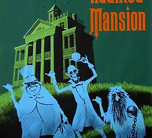 Haunted Mansion Ride Poster by heyitsjro