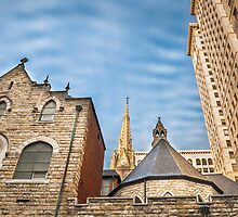 Trinity Cathedral by Michel Godts
