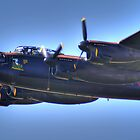 BBMF Lancaster - Thumper 3 HDR - Shoreham 2013 by Colin J Williams Photography